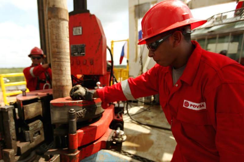 Trabajadores de PDVSA Petroleos de Venezuela 01-06-2015