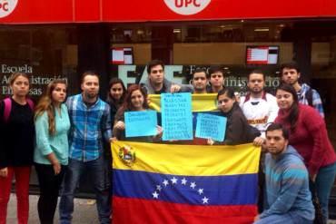 ¡INCREÍBLE! Estudiantes piden a OEA mediar ante régimen de Maduro que no les otorga divisas