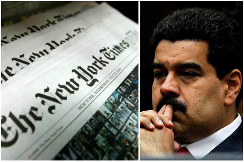 Maduro New York Times