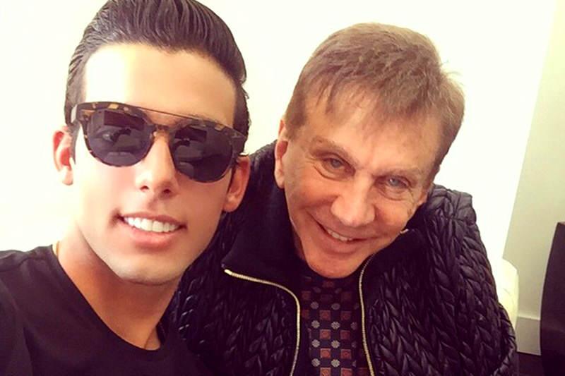 Osmel-Sousa-y-hijo-de-Alejandro-Andrade