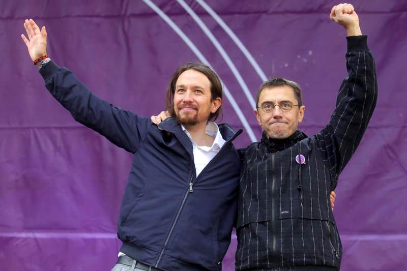 Partido-Español-Podemos-Pablo-Iglesias-con-Juan-Carlos-Monedero-800x533