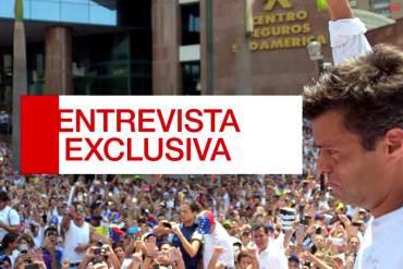 ¡ENTREVISTA EXCLUSIVA! Desde Ramo Verde Leopoldo habla con Fernando del Rincón por CNN