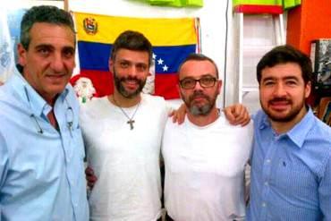 ¡FIRMES E IMBATIBLES! Revelan nuevas imágenes de López y Ceballos con Lucchese en Ramo Verde