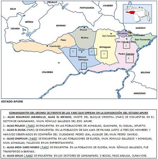 mapa-de-las-FARC-en-Venezuela