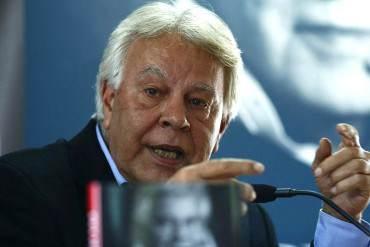 "¡SIN DUDAS! Expresidente Felipe González: ""Venezuela se convirtió en una dictadura de facto"""