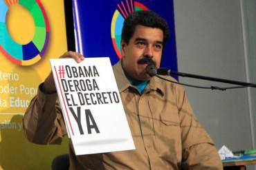 """¡SIGUE EL PAYASO! Maduro exigirá a Obama que entregue a prófugos que """"desestabilizan al país"""""""