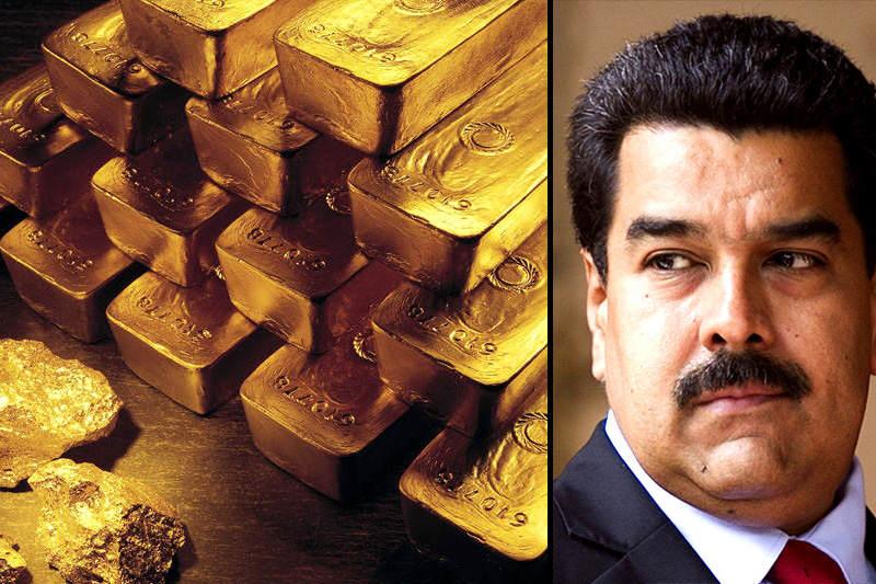 Maduro-Reservas-de-Oro-Venezuela