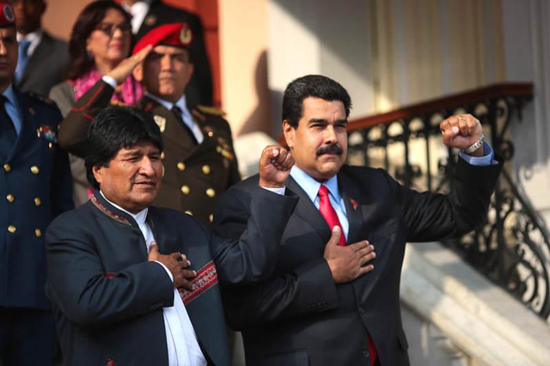 Maduro-y-Evo-Morales
