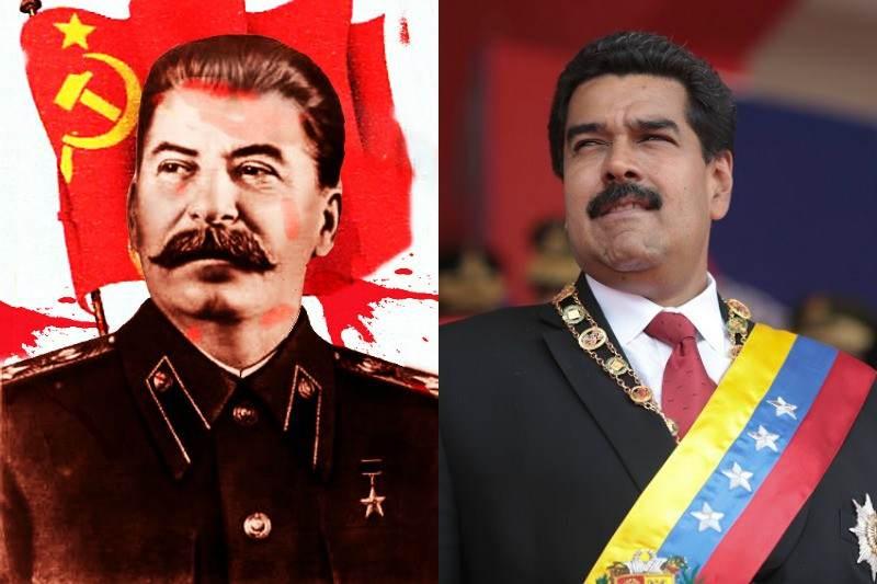 Nicolas Maduro Stalin