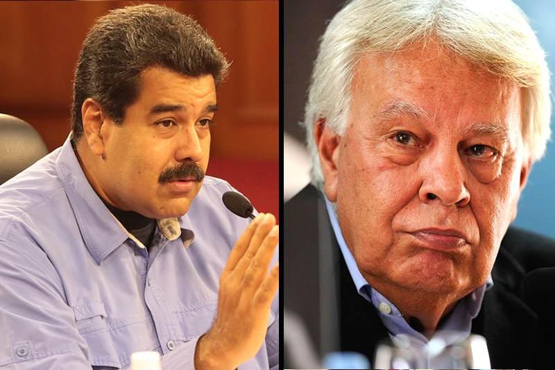 ¡LE DAN SU PARA'O! Partido de Felipe González rechaza declaraciones de Maduro en su contra