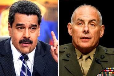 ¡TIEMBLA,NICO! Los poderosos dardos que ha lanzado John Kelly contra Maduro (será secretario de Seguridad de Trump)