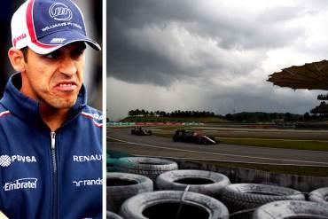 ¡EXCUSAS DE UN MAL PERDEDOR! Maldonado dice que no clasificó a Q3 por culpa de la lluvia