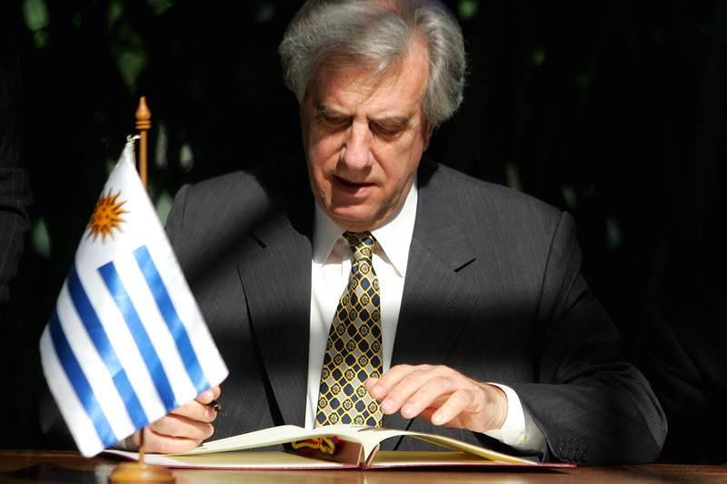 Tabare Vazquez presidente de Uruguay