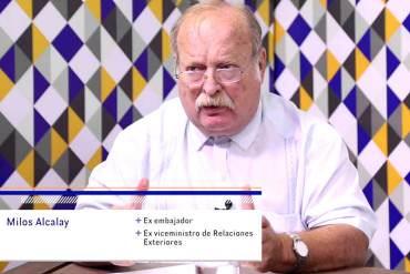 """¡TOMA NOTA NICOLÁS! Milos Alcalay: """"Defensa de los DD.HH. no necesita una visa de trabajo"""""""
