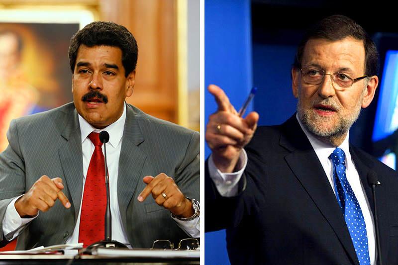 Nicolas-Maduro-Vs.-Mariano-Rajoy