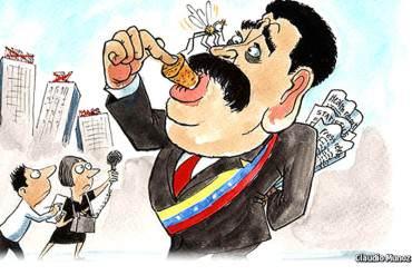 """¡LA PROPIA DICTADURA! The Economist: """"Maduro acosa a la prensa y se censura a sí mismo"""""""
