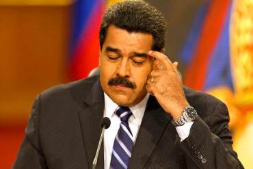 """¡SE LAVA LAS MANOS! Maduro: Contracción de la economía se debe a la """"guerra económica"""""""