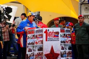 """¿PRESIDENTE OBRERO? Maduro calificó a trabajadores de """"personalistas, parcelados, egoístas"""""""
