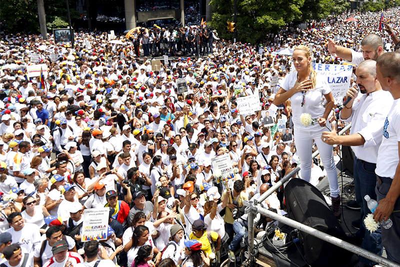 protesta-caracas-30m-lilian-tintori-4