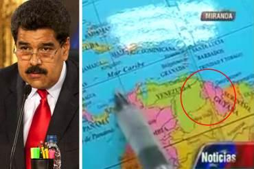 ¡CINISMO! Conatel exige a medios a respetar límites territoriales del país pero ni Maduro lo hace
