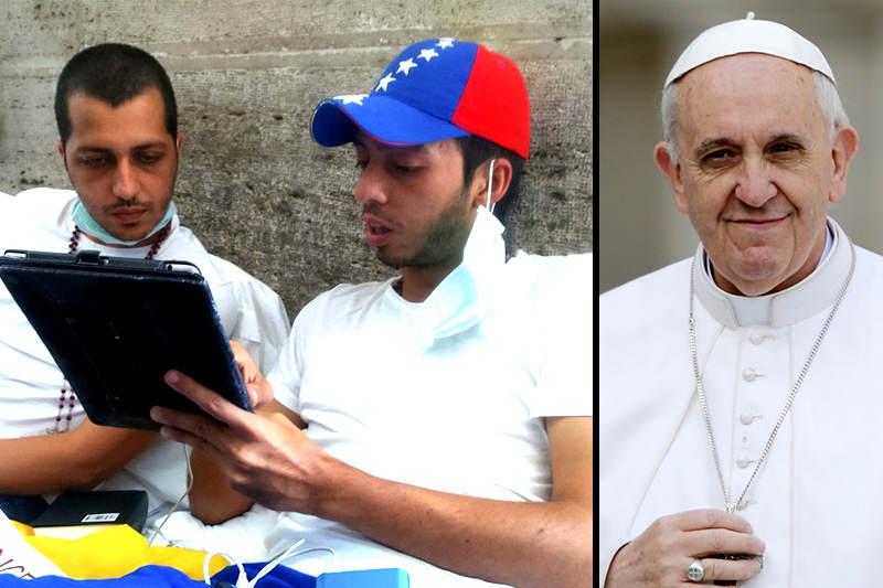 concejales-tachirenses-huelga-vaticano--papa-francisco