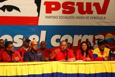 ¡NI ÉL MISMO SE LO CREE! Cabello: Elecciones del PSUV les pone feo el panorama a la oposición