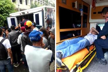 ¡ÚLTIMA HORA! Huelguistas trasladados de emergencia por presunto envenenamiento con agua