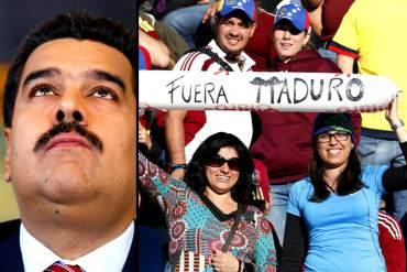 ¡IMPERDIBLES! Las pancartas del juego contra Colombia que Maduro no quiere que veas (+Fotos)