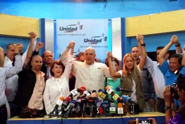 ¡UNIDAD! MUD y esposas de presos políticos se unen en una misma agenda por la libertad