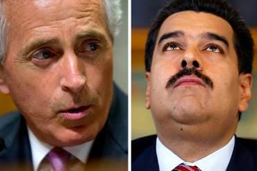 ¡DICTADOR Y COBARDE! Maduro dejó plantado al senador Corker tras hacerlo esperar por horas