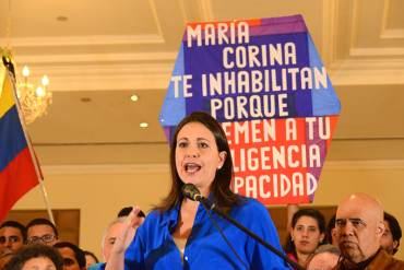 ¡IMPARABLE! María Corina Machado apelará a instancias internacionales contra inhabilitación