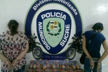 ¡DESASTRE EN LA PATRIA! Capturaron a dos bachaqueras robando embutidos en supermercado