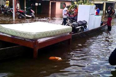 """¡ES URGENTE! Exigen declarar """"estado de emergencia"""" en Guasdualito por fuertes inundaciones"""