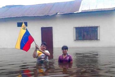 ¡MUEVE EL ALMA! La imagen de las inundaciones en el país que impactó las redes sociales
