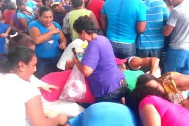 ¡DESASTRE! Jornada de Pdval en Nueva Cúa culminó con saqueo de dos toneladas de alimentos