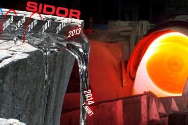 ¡LO QUE TOCAN LO DESTRUYEN! Producción de acero se desploma tras 7 años de estatizar Sidor