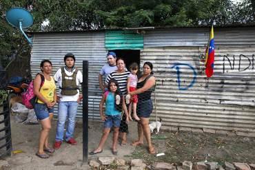 """¡DESPIADADO! """"D"""", la marca que condena las casas de los colombianos en frontera al derrumbe"""