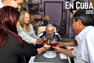 ¡EL PAÍS SE CAE A PEDAZOS Y…! Maduro expresó «alegría» por celebrar el cumpleaños de Fidel