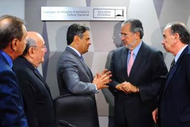 """¡CON TODO! Miguel H. Otero desnudó al régimen en el Congreso de Brasil: """"Es una dictadura"""""""