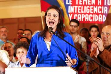 ¿ASÍ O MÁS CLARO? María Corina Machado: Un régimen como este no se derrota con cacerolas