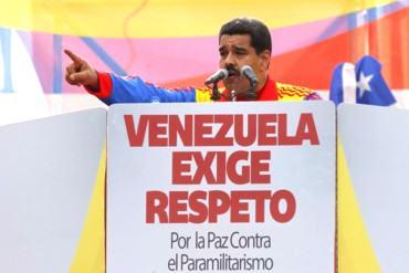 """¡ANDA HISTÉRICO! Maduro: """"La OEA debe sacar sus narices del asunto fronterizo, fuera la OEA"""""""