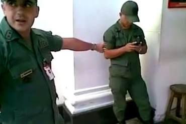 ¡DESCOMPOSICIÓN TOTAL! La indisciplina dentro de la FANB quedó en evidencia con este VIDEO