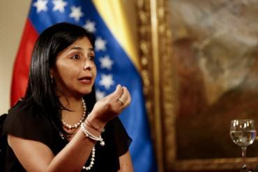 ¡LE HIERVE LA SANGRE! Delcy estalló tras declaraciones de Kerry sobre caso de Leopoldo López