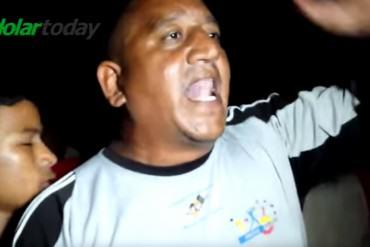 ¡CANDELA! Chavistas enardecidos arremeten contra Rangel Gómez: «Vamos por ese ladrón»