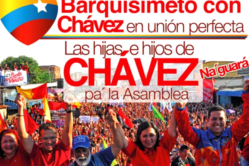 Campaña-PSUV-Hijos-de-Chavez-Barquisimeto