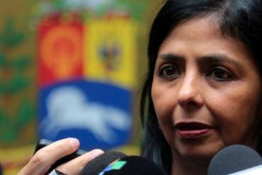 ¡BOTA VENENO! Delcy a García-Margallo: Nada tiene que opinar de Venezuela, ocúpese de su país