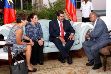 ¡CÍNICO! Maduro en Antigua y Barbuda: Estamos empeñados en crear una zona de prosperidad