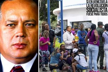 """¡DONDE LES DUELE! """"Diosdado, los candidatos del Psuv son los únicos que no saben de colas"""""""