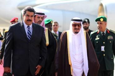 ¡ACUMULANDO MILLAS! Maduro llega a Arabia Saudita para defender precio justo del petróleo