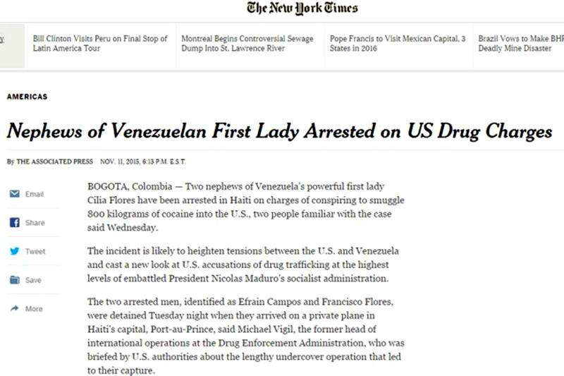 Diario The New York Times.